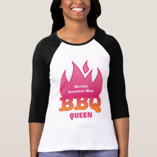 World's Greatest Mom BBQ QUEEN Shirts