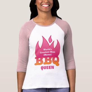 World's Greatest Mom BBQ QUEEN Shirt