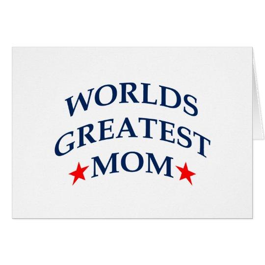 Worlds Greatest Mom Card