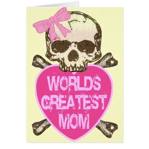 World's Greatest Mom Greeting Cards