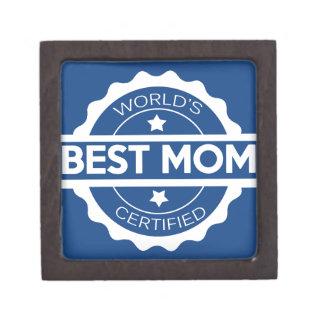 Worlds greatest mom design gift box