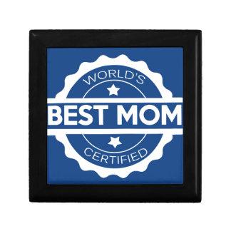 Worlds greatest mom design keepsake box