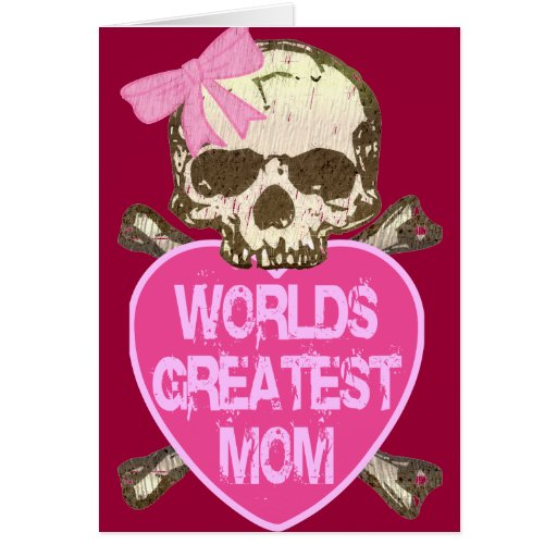 World's Greatest Mom Gothic Cards