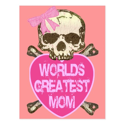 World's Greatest Mom Gothic Post Cards