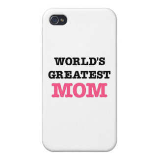 World's Greatest Mom iPhone 4/4S Cover