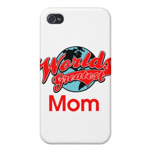 World's Greatest Mom iPhone 4/4S Cases