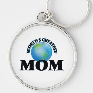 World's Greatest Mom Keychains