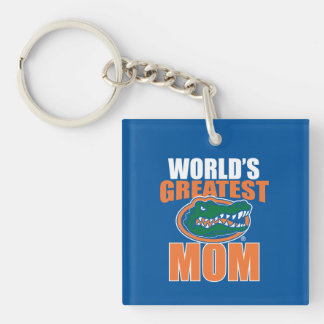 World's Greatest Mom Keychain