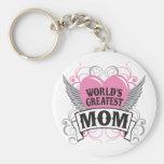 World's Greatest Mom Keychain