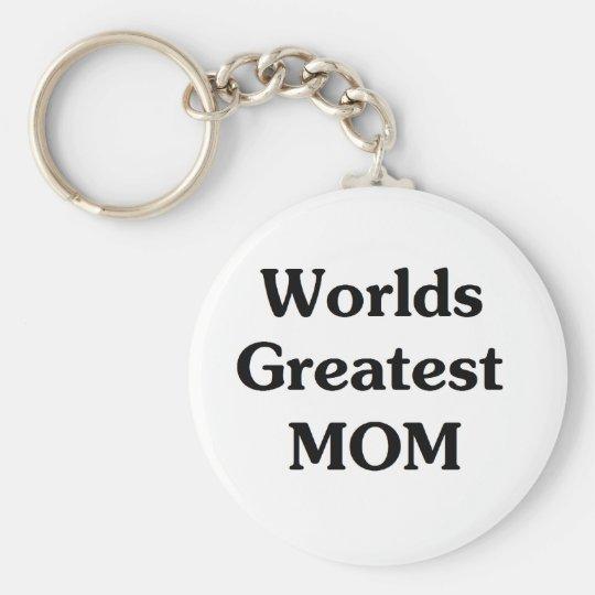 Worlds Greatest Mom Keychain