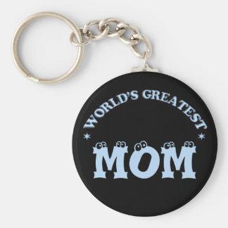 World's Greatest Mom Key Chain