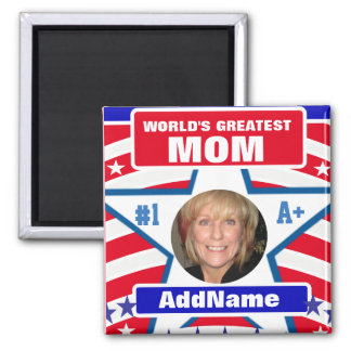 Worlds Greatest Mom Magnet