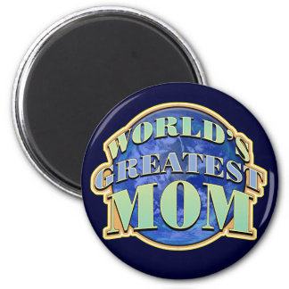 World's Greatest Mom Magnet Magnets