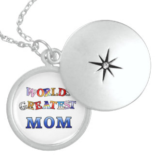 Worlds Greatest Mom Necklace