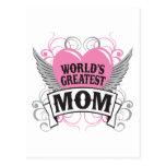 World's Greatest Mom Post Card