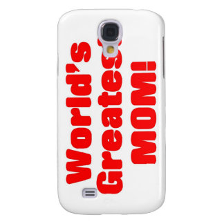 World's Greatest Mom Samsung Galaxy S4 Cover