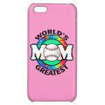 World's Greatest Mom; Softball iPhone 5C Case