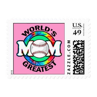 World's Greatest Mom; Softball Stamps