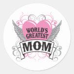 World's Greatest Mom Sticker