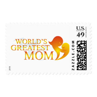 World's Greatest Mom T Shirts Stamps