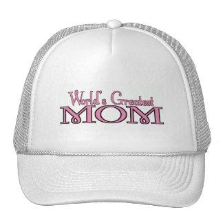 Worlds Greatest Mom Trucker Hat