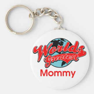 World's Greatest Mommy Keychain