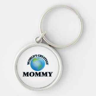 World's Greatest Mommy Keychains