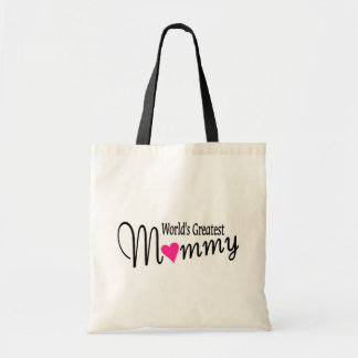 Worlds Greatest Mommy Tote Bag