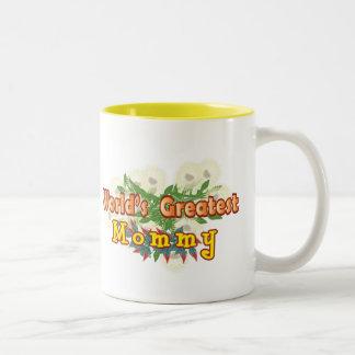 World's Greatest Mommy Two-Tone Coffee Mug