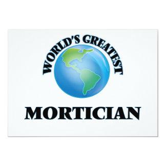 World's Greatest Mortician Invites