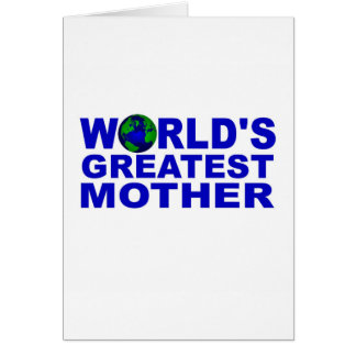 World's Greatest Mother Card