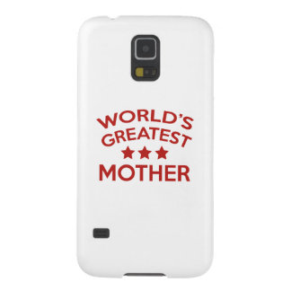 World's Greatest Mother Galaxy S5 Cover