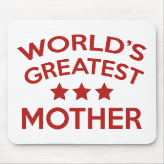 World's Greatest Mother Mouse Pad
