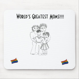 Worlds Greatest Mouse Pad (boy&girl)...