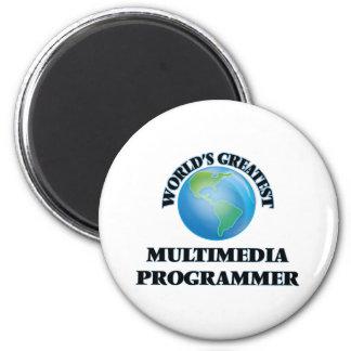 World's Greatest Multimedia Programmer Fridge Magnets