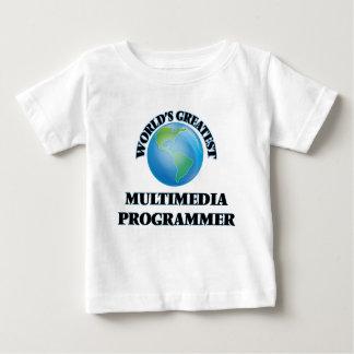 World's Greatest Multimedia Programmer T Shirt