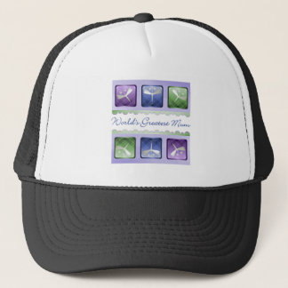 World's Greatest Mum (dragonflies) Trucker Hat