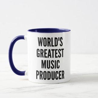 Worlds Greatest Music Producer Mug