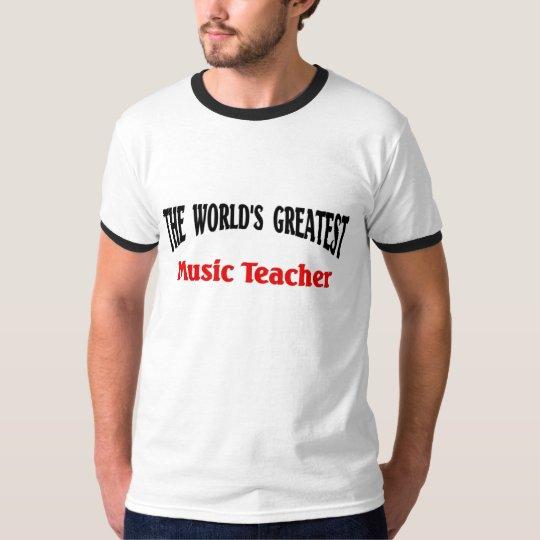 World's Greatest Music Teacher T-Shirt