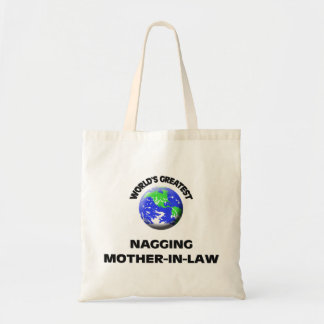 World's Greatest Nagging Mother-In-Law Tote Bag