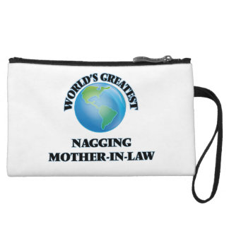 World's Greatest Nagging Mother-in-Law Wristlet Clutch