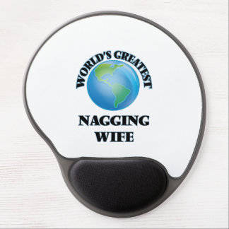 World's Greatest Nagging Wife Gel Mousepads