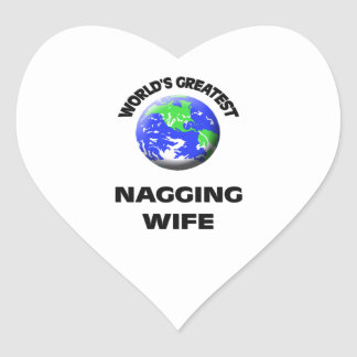 World's Greatest Nagging Wife Stickers