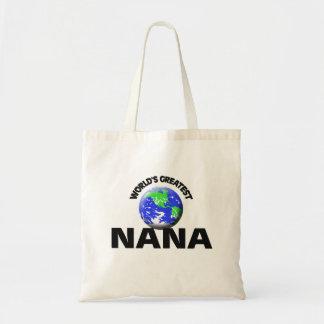 World's Greatest Nana Budget Tote Bag