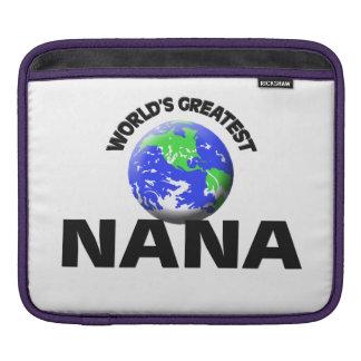 World's Greatest Nana iPad Sleeves