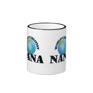 World's Greatest Nana Ringer Coffee Mug