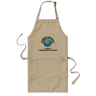 World's Greatest Nature Conservation Officer Apron