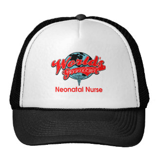 World's Greatest Neonatal Nurse Mesh Hats
