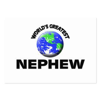 World's Greatest Nephew Business Card