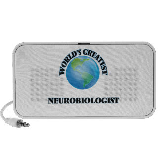 World's Greatest Neurobiologist iPod Speakers